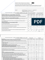 final evaluation form community