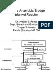 Upflow Anaerobic Sludge Blanket reactor