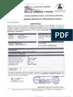 Certificado de Parametros Urbanísticos-hospital Existente