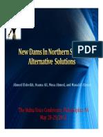 New Dams in Northern Sudan - Alternative Solutions