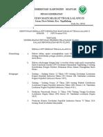 9.4.1.1SK Tentang Keterlibatan Petugas Dalam Peningkatan Mutu Klinis