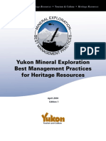 Mineral Exploration BMP for Heritage Resources (1)