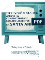 Monografia La Tv Basura word