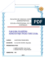 Plan Global de Auditoria