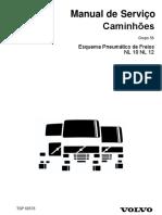 Esquema Pneumático de Freios NL 10 NL 12