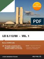 Lei 8112 Questões Comentadas