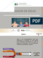 Manual Del Generador de Ideas