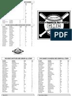 2016 GMC All-Star Program