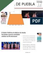 Ballet Folklórico de Amalia Hernández Conquista Bellas Artes