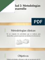 2.1 Metodologias de Desarrollo