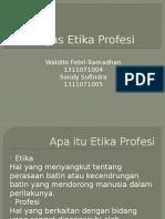 Tugas Etika Profesi