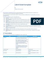 ITIL_Sample Incident Ticket Template PDF