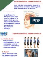 Habitos Que Lesionan El Cerebro y La Salud