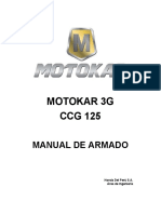 Manual Armado Motokar 3G 125