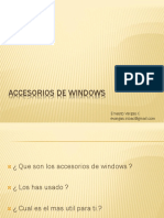 Accesorios de Windows