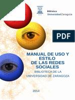 Manual Estilo Redes Sociales