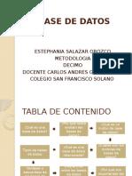 Base de Datos Estefania