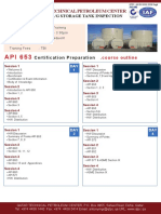 API 653 Above Ground Storage Tank Inspection