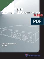 4CH - DVR-8304B