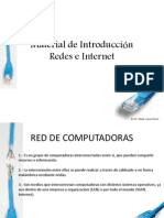 RED de as e Internet Material 1 Introduccion