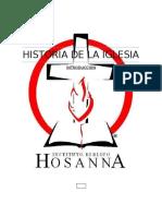 Introduccion Historia de La Iglesia.