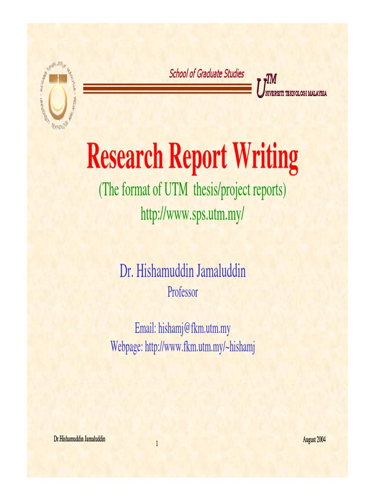 sps utm thesis format