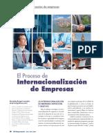 Proceso de Internacionalizacion de Empresas