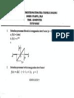 UTS Matematika Teknik II