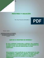 Clase03_2013_I Muestreo y Dilucion