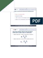 Evaluation of Separator performance