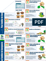 Afiche Plan Familiar de Emergencia