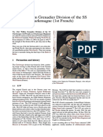 33rd Waffen Grenadier Division of the SS Charlemagne (1st French)