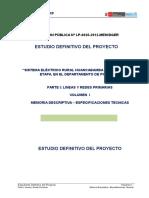 2.0 Memoria Descriptiva LP y RP Huancabamba V
