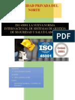 ISO 45001 Tiempo Para Un Cambio Para OHSA 18001