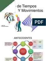 Presentación de Clase Estudio de Movimientos y Tiempos 20215 UDEO