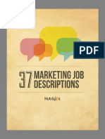 37 Marketing Job Descriptions HubSpot