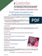 Study Guide Sec