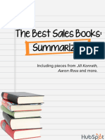 The Best Sales Books Summarized