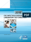 CDC Lab 2016 - Hepatitis Testing A-E