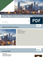 Webb Sheet Metal Hands On