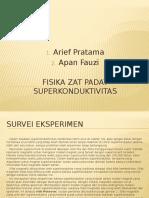 FISIKA ZAT PADAT-Superkonduktivitas