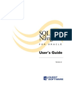 Users Guide for SQL Navigator
