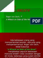 10 Ciri Orang Kreatif