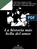 Le Goff, Et-Al., La Historia Más Bella Del Amor