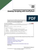 Desktop Scripting With IronPython