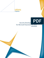 Security Development Tool AX 2012