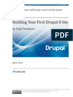 Drupal Article First Site 04