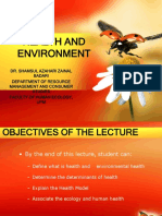 Fem3202-Health and Environment