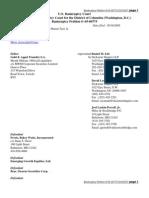 Bankruptcy Docket 05-00775 DOCKET 35 Pages 2010
