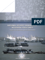 National Security Management in Federal Structures